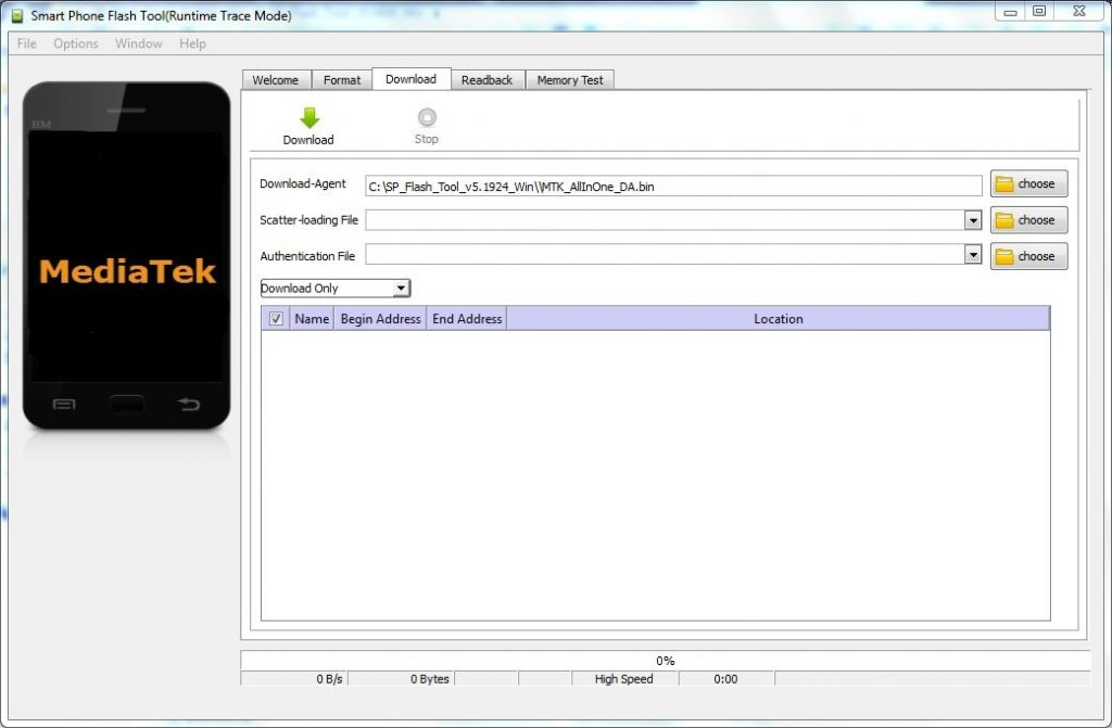 Sp Flash Tool All Version For MTK Android Device.