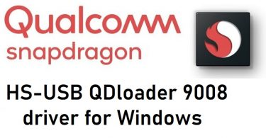 Qualcomm HS-USB QDloader 9008 driver for Windows free downlaod