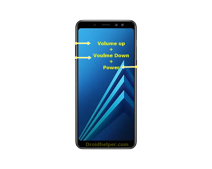 On Samsung Devices with Power and Volume Keys